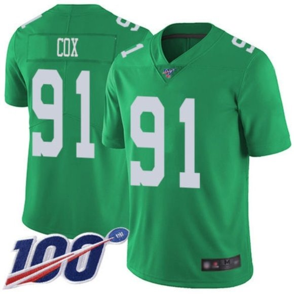 Philadelphia Eagles Fletcher Cox 100th Jersey 3 NWT